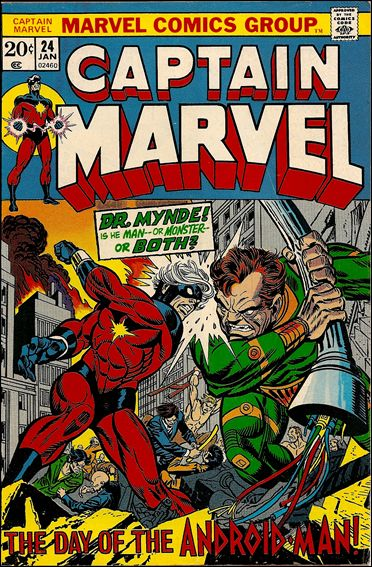 Captain Marvel (1968) 24-A by Marvel