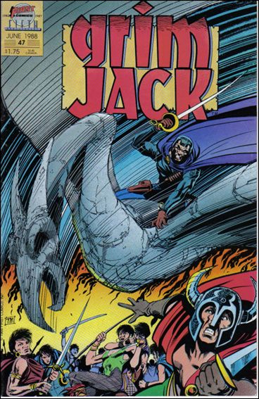 Grimjack 47-A by First