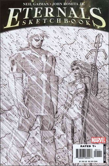 Eternals Sketchbook nn-A by Marvel