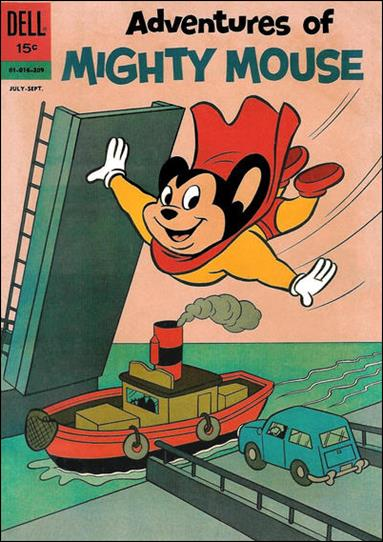 Adventures of Mighty Mouse (1959) 155-A by Dell