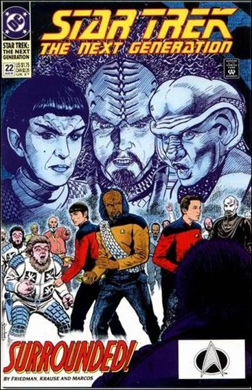 Star Trek: The Next Generation (1989) 22-A by DC