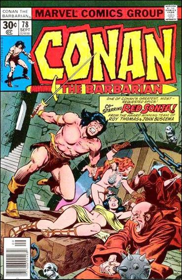 Conan the Barbarian (1970) 78-A by Marvel