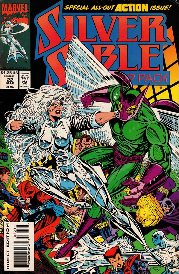 Silver Sable & The Wild Pack 22-A by Marvel