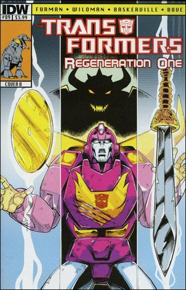 Transformers: Regeneration One 89-B by IDW