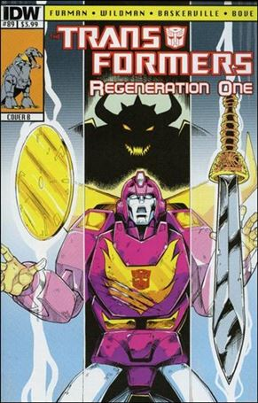 Transformers: Regeneration One 89-B