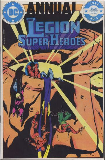 Legion of Super-Heroes Annual 3-A by DC
