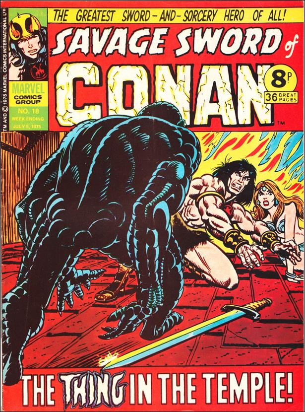 Savage Sword of Conan (UK) (1975) 18-A by Marvel UK