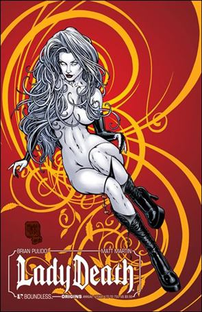 Lady Death Origins Annual 1-J