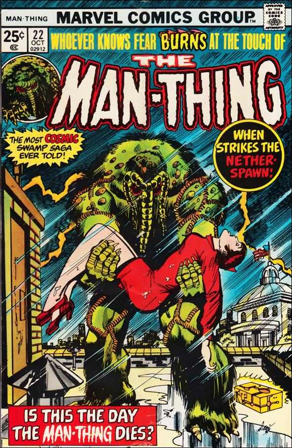 Man-Thing (1974) 22-A by Marvel