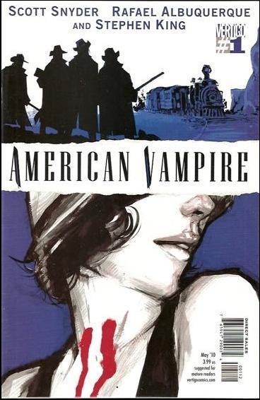 American Vampire 1-D by Vertigo