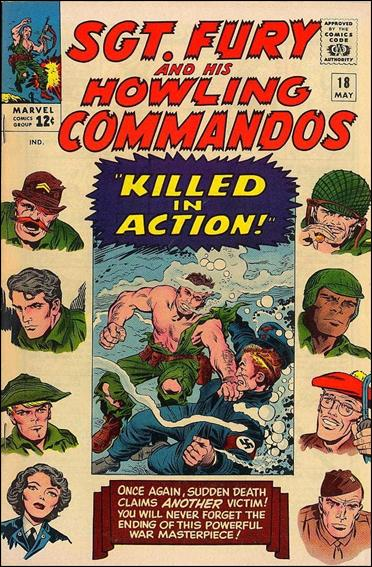 Sgt. Fury and His Howling Commandos 18-A by Marvel