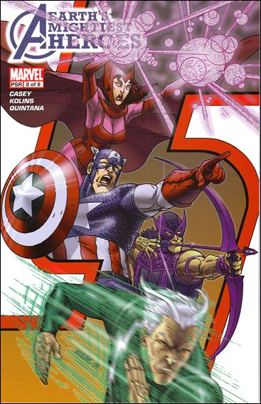 Avengers: Earth's Mightiest Heroes (2005) 8-A by Marvel