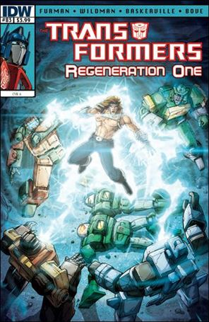Transformers: Regeneration One 83-A