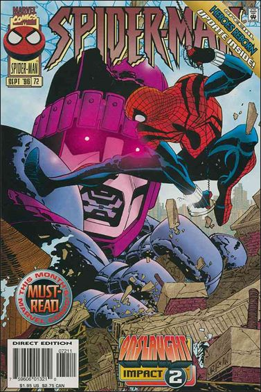 Spider-Man (1990) 72-A by Marvel