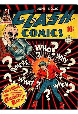 Flash Comics (1939) 30-A by DC