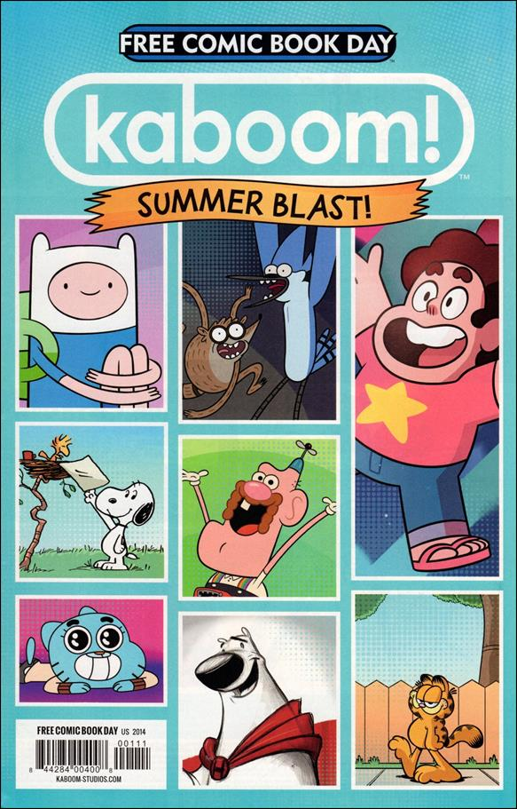 Kaboom! Summer Blast Free Comic Book Day Edition 2014-A by Kaboom!
