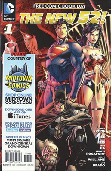 DC Comics - The New 52 FCBD Special Edition 1-E by DC