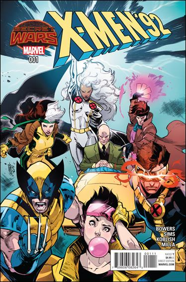 X-Men '92 (2015) 1-A by Marvel