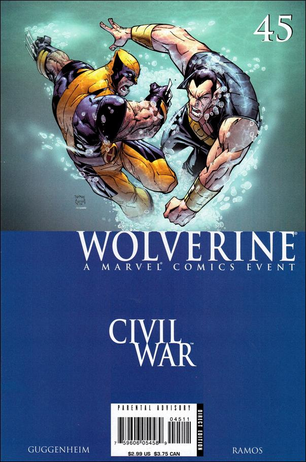 Wolverine (2003)  45-A by Marvel