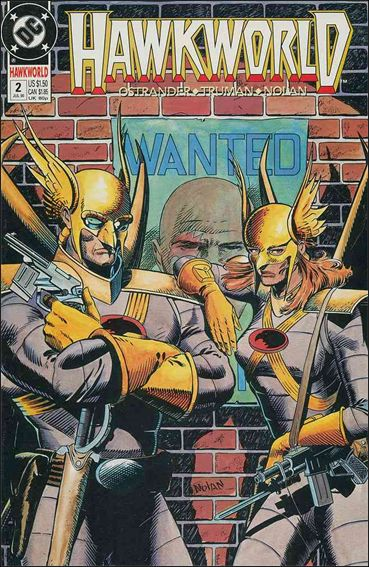 Hawkworld (1990) 2-A by DC