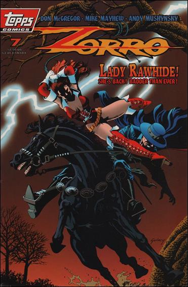 Zorro (1993) 7-A by Topps