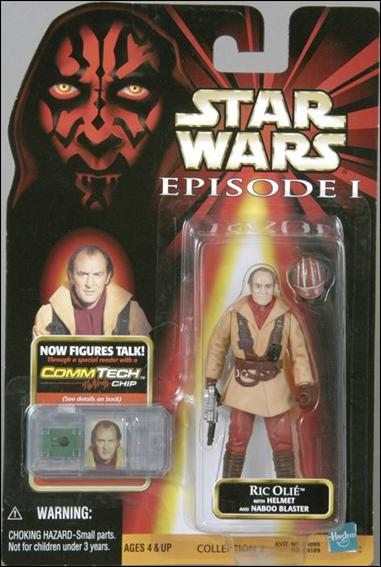 "Star Wars: Episode I 3 3/4"" Basic Action Figures Ric Olie (No Logos) by Hasbro"