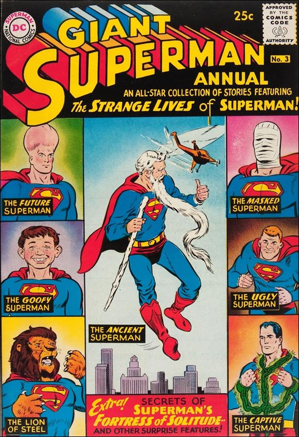 Superman Annual (1960) 3-A by DC