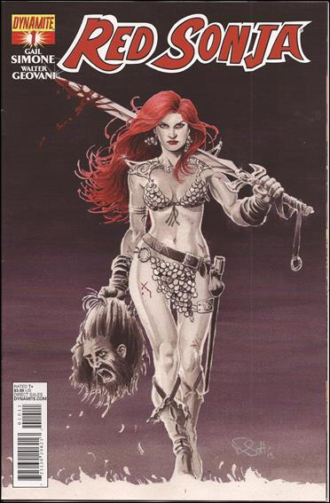 Red Sonja (2013) 1-A by Dynamite Entertainment