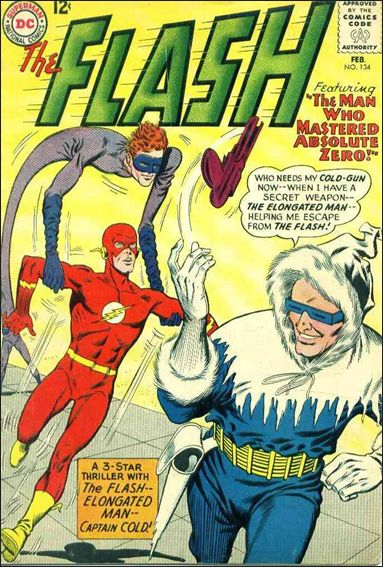 Flash (1959) 134-A by DC