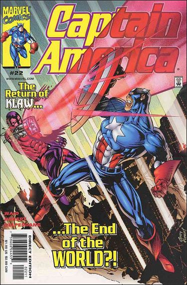 Captain America (1998) 22-A by Marvel