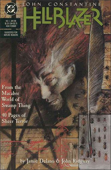 Hellblazer 1-A by Vertigo