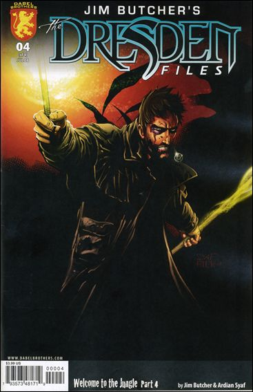 Jim Butcher's The Dresden Files: Welcome to the Jungle 4-A by Dabel Brothers (DB) Productions