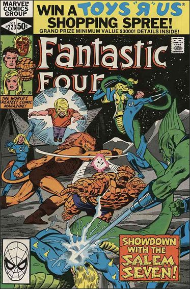 Fantastic Four (1961) 223-A by Marvel