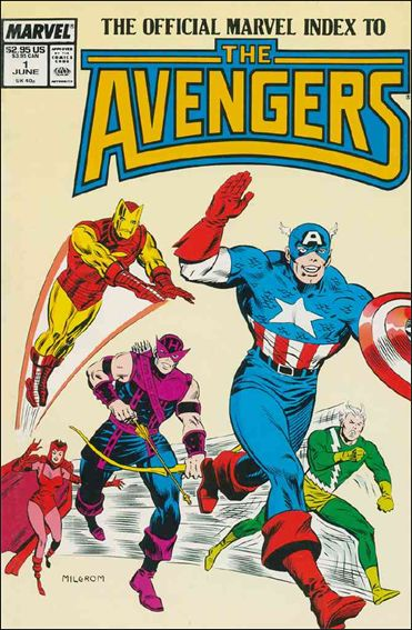Official Marvel Index to the Avengers (1987) 1-A by Marvel