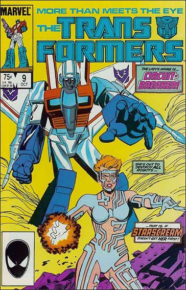 Transformers (1984) 9-A by Marvel