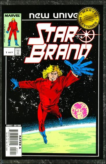 Marvel Milestones: Star Brand & Quasar nn-A by Marvel