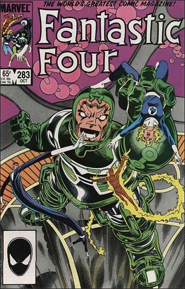Fantastic Four (1961) 283-A by Marvel