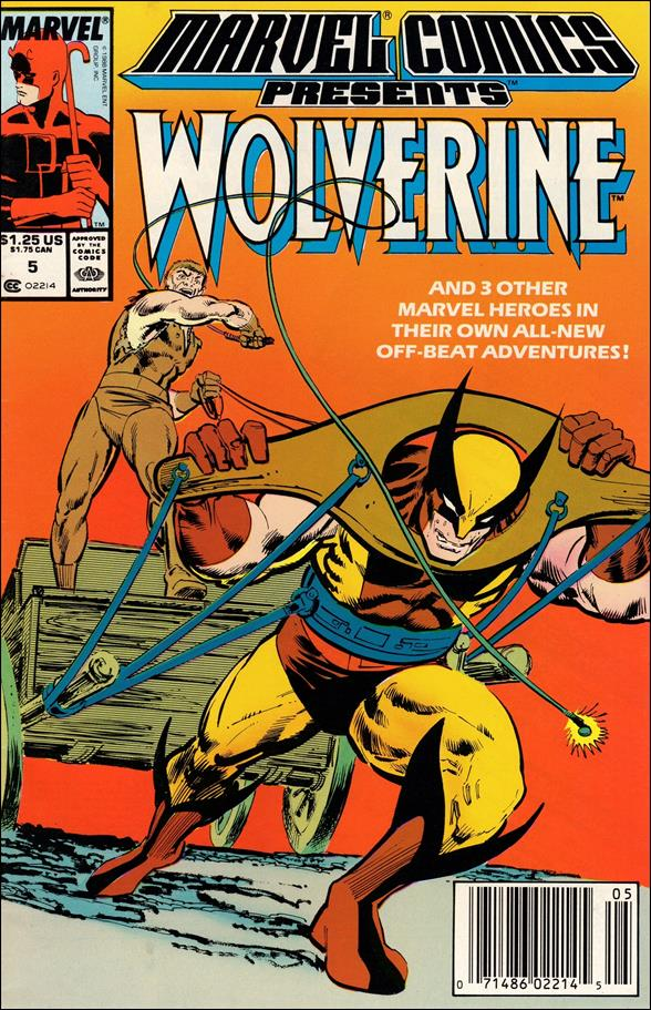 Marvel Comics Presents (1988) 5-A by Marvel
