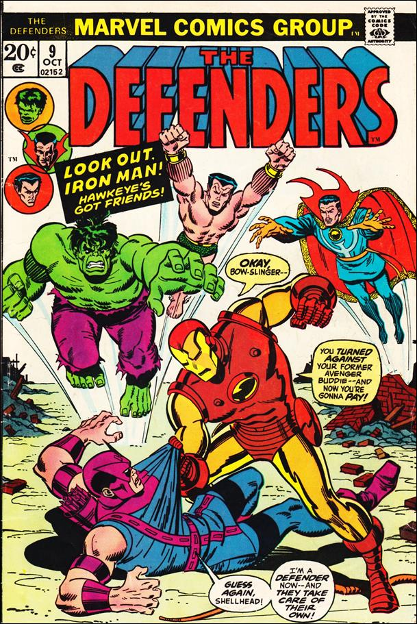 Defenders (1972) 9-A by Marvel