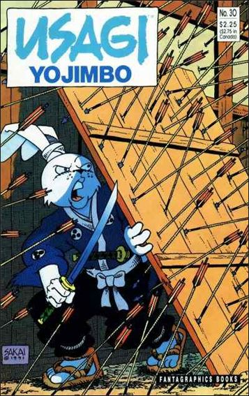 Usagi Yojimbo (1987) 30-A by Fantagraphics