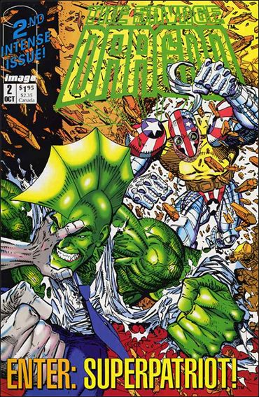 Savage Dragon (1992) 2-A by Image