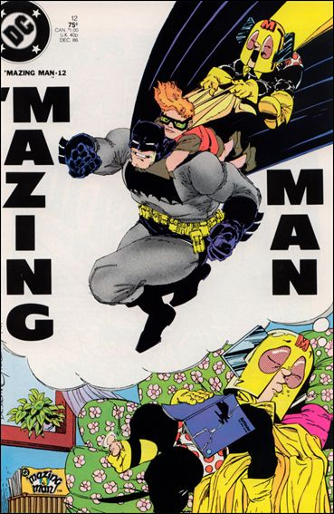 'Mazing Man 12-A by DC