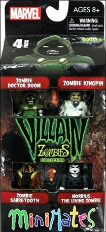 Marvel Minimates (Box Sets) Villain Zombies Collection Series 2 4-Pack