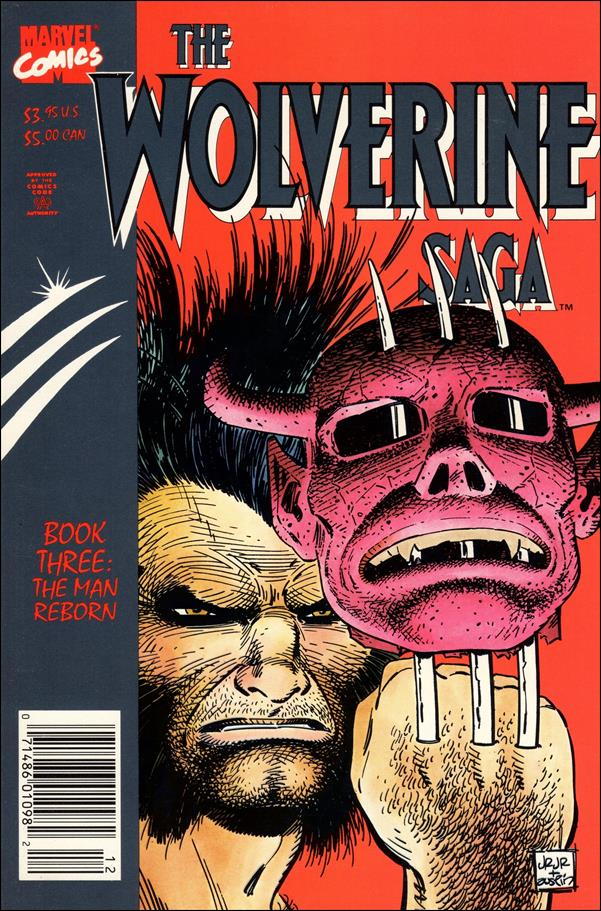 Wolverine Saga (1989) 3-A by Marvel