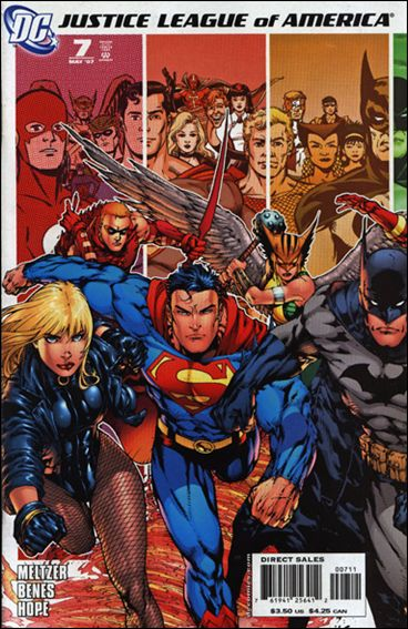 Justice League of America (2006) 7-A by DC