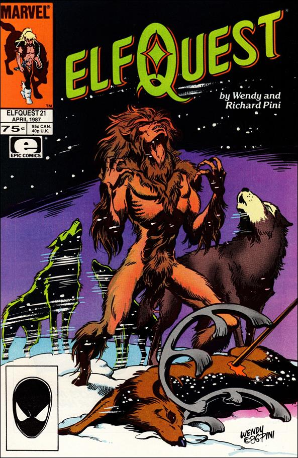 Elfquest (1985) 21-A by Epic