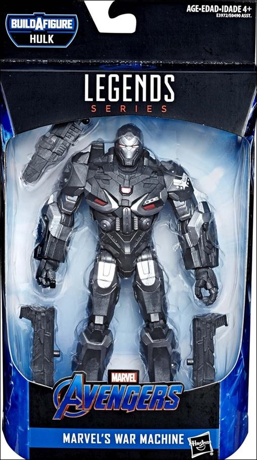 Marvel Legends Series: Avengers (Hulk Series) War Machine by Hasbro