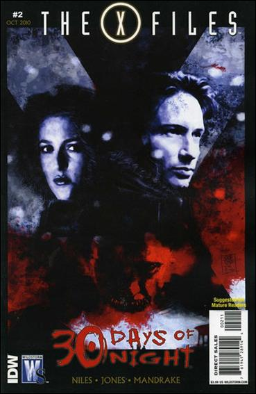 X-Files/30 Days of Night 2-A by WildStorm