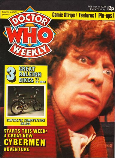 Doctor Who Weekly 5-A by Marvel UK