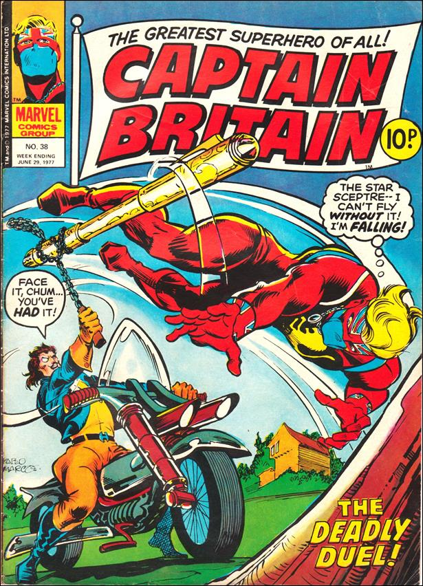 Captain Britain (UK) (1976) 38-A by Marvel UK